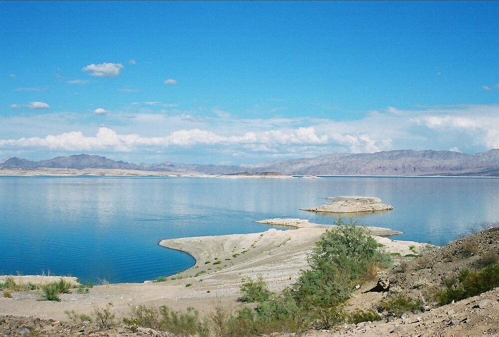 A Beautiful View of Lake Meade by Christopher Hignite