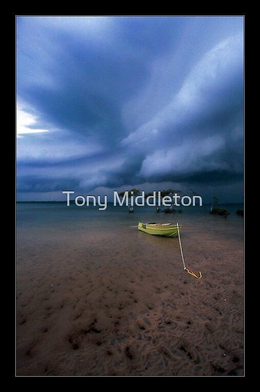 safe anchorage II - Inkskip Point Qld. by Tony Middleton