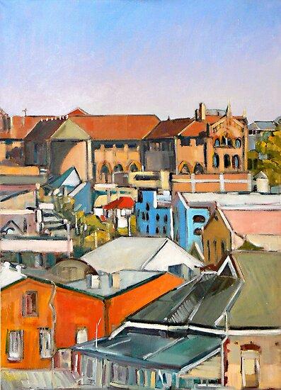 Urban Scape 3 by Paul  Milburn