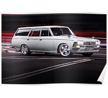 Luke's Toyota Crown Wagon Poster