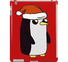 Festive Gunter the Penguin. iPad Case/Skin