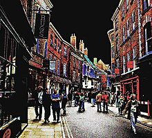 York Shopping by Steve Holt