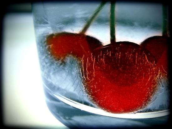 Ice Cherry by James McKenzie