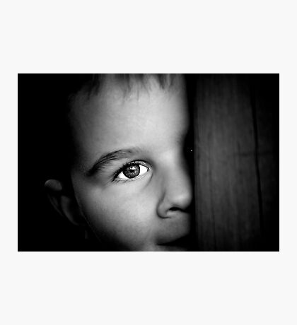 Through a childs' eyes Photographic Print