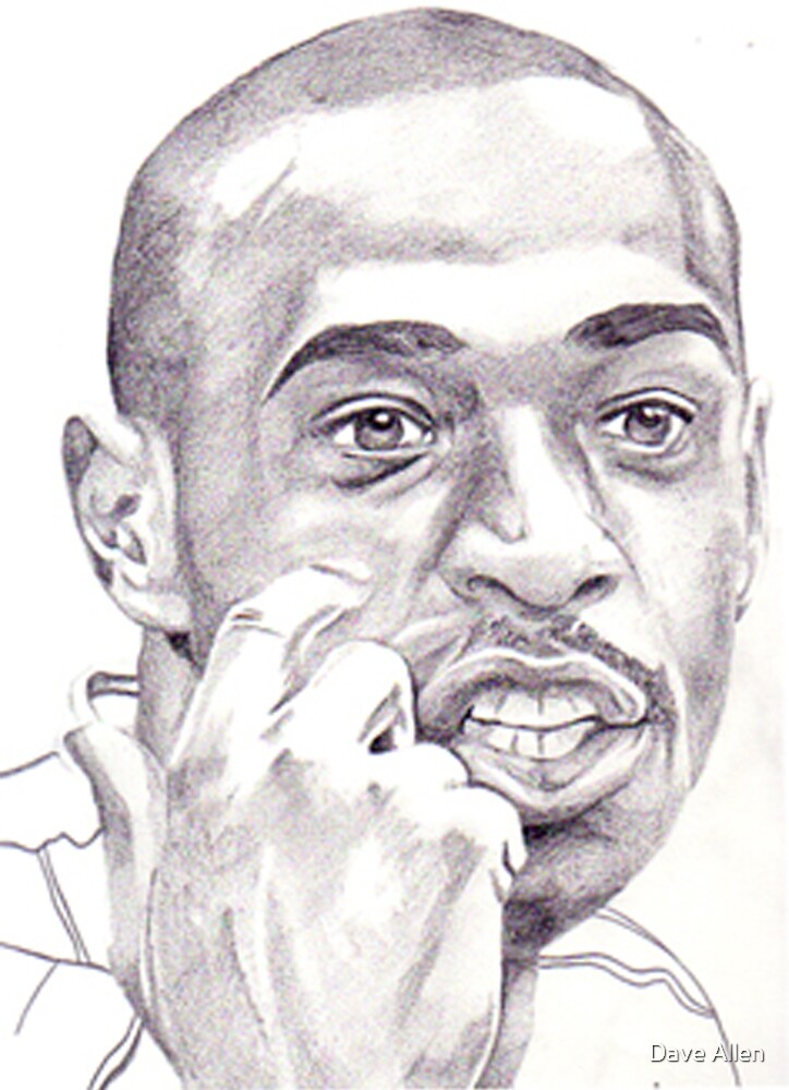 Thierry Henry by Dave Allen