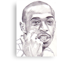 Thierry Henry Canvas Print