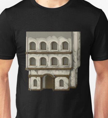 Glitch Apartment Exterior apartment exterior Unisex T-Shirt