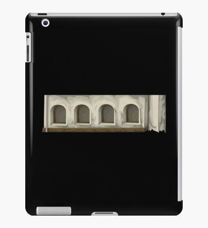 Glitch Apartment Exterior apartment topper 1 iPad Case/Skin