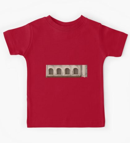 Glitch Apartment Exterior apartment topper 1 Kids Tee