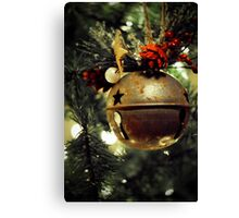 Ring, Christmas Bell Canvas Print