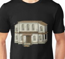 Glitch Apartment Exterior group hall clubhouse placeholder bea1 Unisex T-Shirt