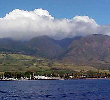 Maui in the Clouds by Sheryl Sutter