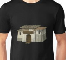 Glitch Apartment Exterior group hall shack placeholder bea1 Unisex T-Shirt
