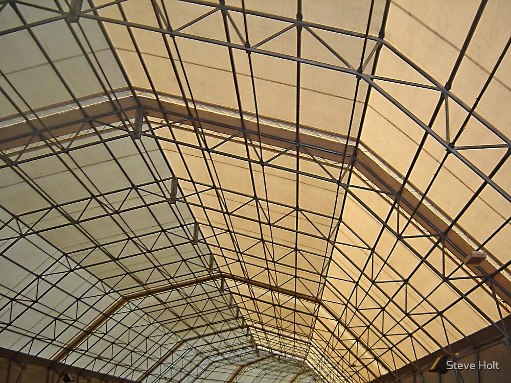 Fort Nelson Gunnery Hangar by Steve Holt