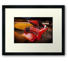 Kim Smith's VY Holden Commodore Ute 'Wildfire' Framed Print