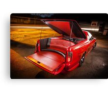 Kim Smith's VY Holden Commodore Ute 'Wildfire' Canvas Print