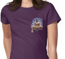 Thai Buddha Womens Fitted T-Shirt