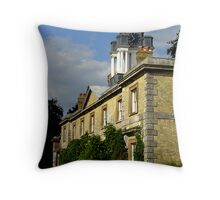 Stansted House Throw Pillow