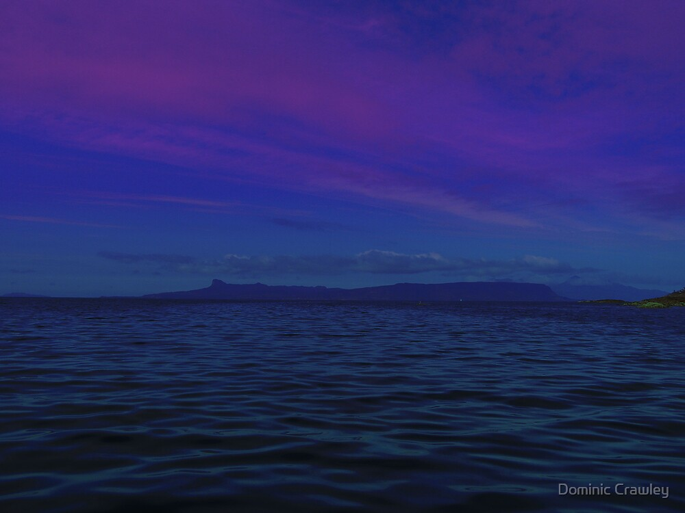 Skye at dusk by Dominic Crawley