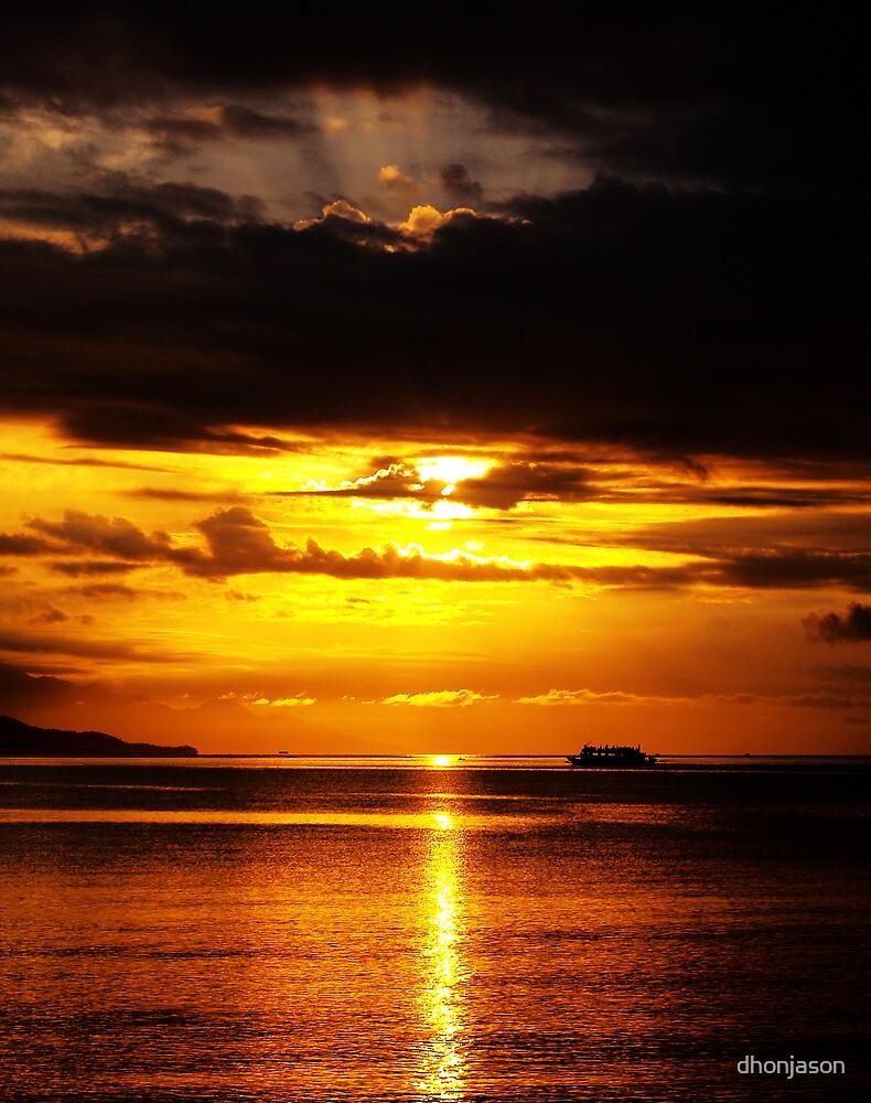 Sunset by dhonjason