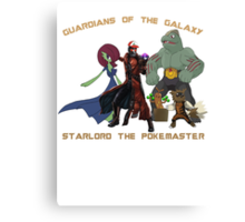 Guardians of the Pokéverse Canvas Print