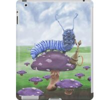 Who Are You? The Wonderland Caterpillar on Mushroom  iPad Case/Skin