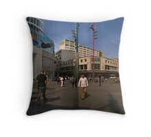 Bullring Shopping Centre Birmingham Throw Pillow