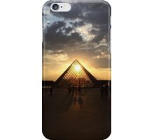 Louvre at Sunset, Paris iPhone Case/Skin