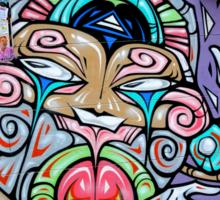 Grafitti in Melbourne, Australia Sticker