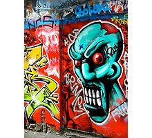 Grafitti in Melbourne, Australia Photographic Print