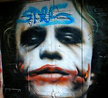 Joker Grafitti in Melbourne, Australia by dwinig05