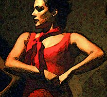 Flamenco Dancer by Kara Rountree