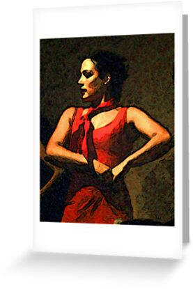 Flamenco Dancer by Kara Rountree