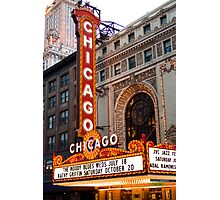 Chicago Theater Photographic Print