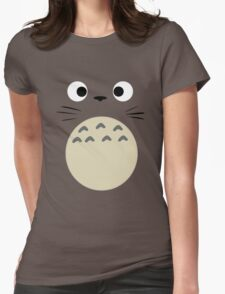 Dubiously Totoro Womens Fitted T-Shirt