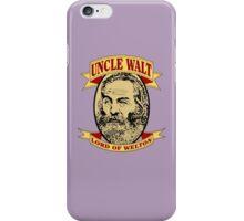 Uncle Walt (Color Print) iPhone Case/Skin