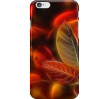 Glowing red iPhone Case/Skin