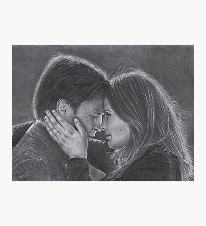 Castle and Beckett - Last battle Photographic Print