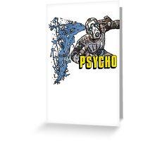 Borderlands The Presequel - The Psycho No logo Greeting Card