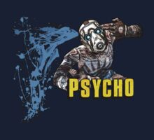 Borderlands The Presequel - The Psycho No logo by noisemaker