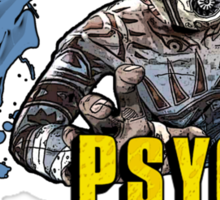 Borderlands The Presequel - The Psycho No logo Sticker