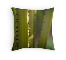 Plam Fronds Throw Pillow