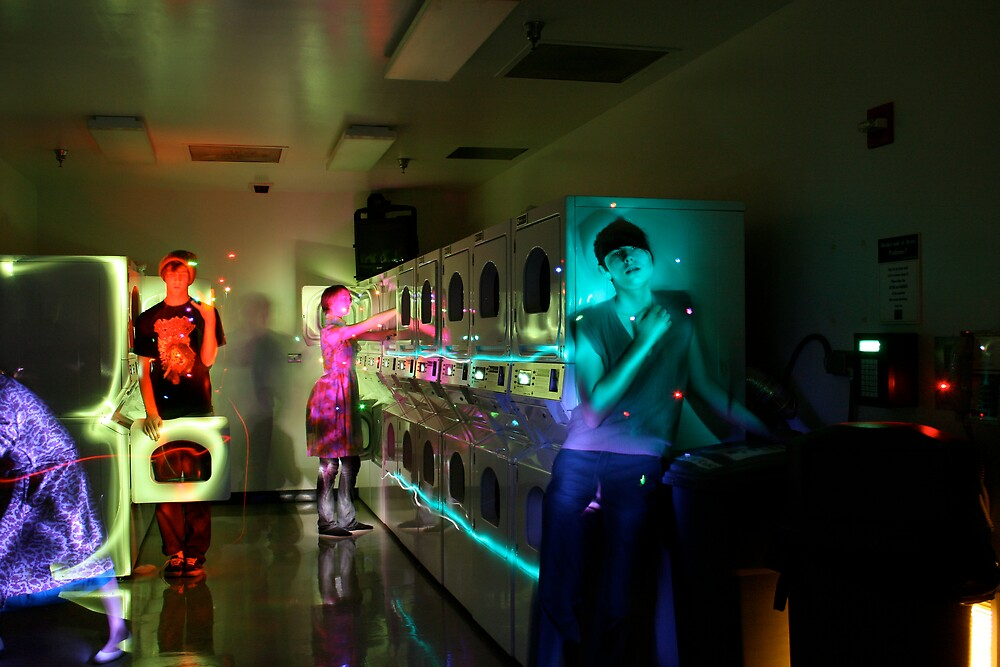 the laundromat by Michelle Fontaine
