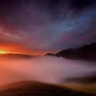 Bassenthwaite Cloud Inversion English Lake District by Martin Lawrence