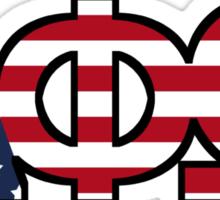 APO Patriotic Sticker