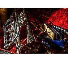 Cornet, Kazoo & Blues Harps Photographic Print
