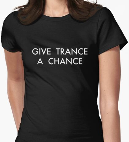 Trance Womens Fitted T-Shirt