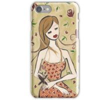 Girl Seated iPhone Case/Skin