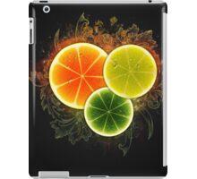 Citrus slices design iPad Case/Skin