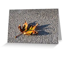 Fallen Greeting Card